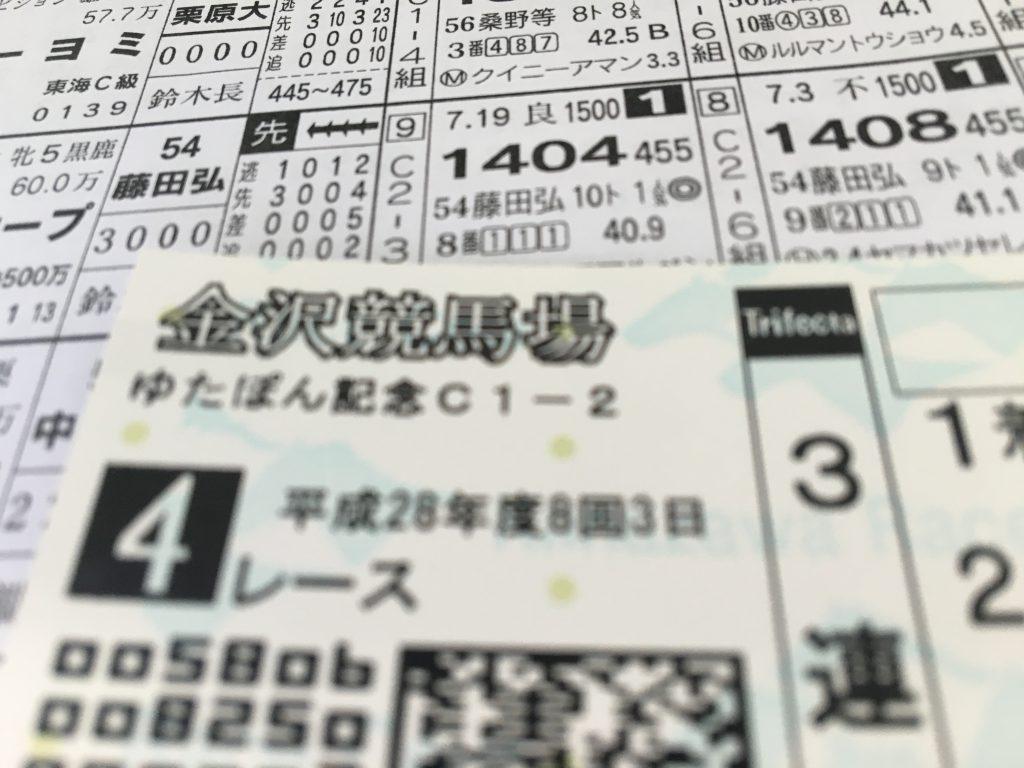 【白山大賞典2016予想】金沢2100mのJpnIII戦です